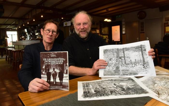 Jos Vinckx bundelt volksverhalen in boek in samenwerking met tekenaar Wégé