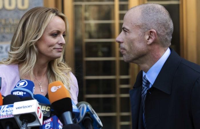 Trump eist 778.000 dollar van porno-actrice Stormy Daniels
