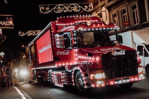 Iconische Coca Cola-kersttruck komt tweemaal naar Antwerpen