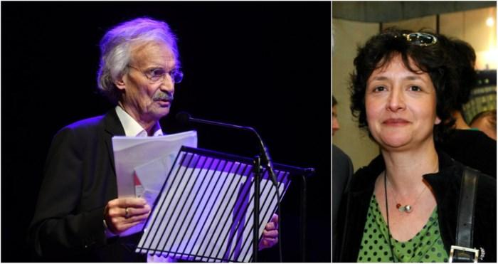 Guy Mortier en Sigrid Spruyt presenteren 'Het Groot Dictee Heruitgevonden' in Antwerpen