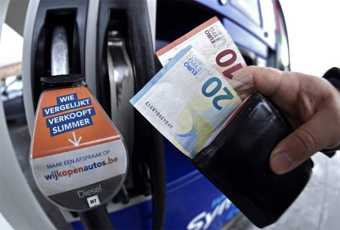 Prijzen van benzine en diesel worden volgend jaar niet geïndexeerd