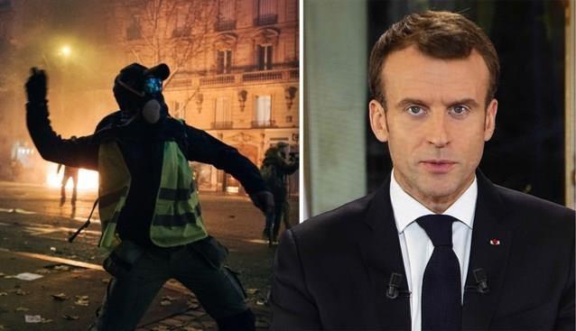 Franse president Macron belooft stijging minimumloon na zware protesten van 'gele hesjes'