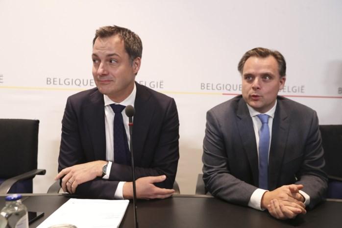 """Nieuwe minister De Backer over Michel II: """"Dit staat los van Antwerpen waar we dit jaar nog landen"""""""