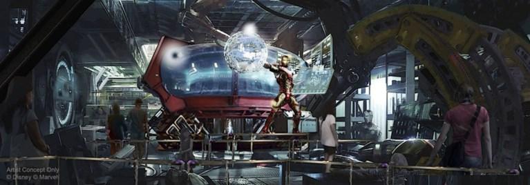 Disneyland Paris toont eerste beelden: zo zal het nieuwe Marvel-land er gaan uitzien