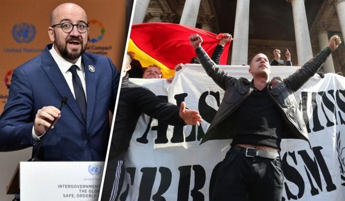 Officiële aanvraag ingediend voor Mars tegen Marrakesh en tegenbetoging: ook hooligans van de partij