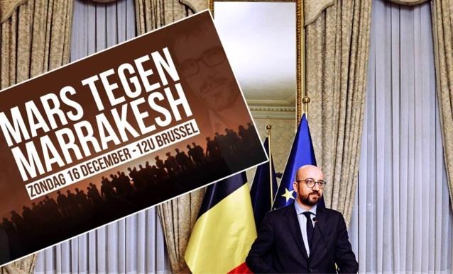 'Mars tegen Marrakesh' in Brussel wordt verboden