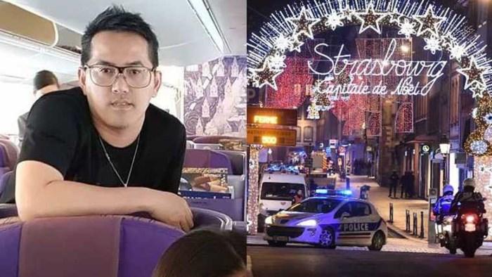 Dodelijk slachtoffer was nog maar net aangekomen in Straatsburg om kerstmarkt te bezoeken