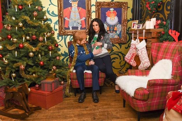 """Enge"" prins Harry en Meghan Markle vieren nu al kerst"