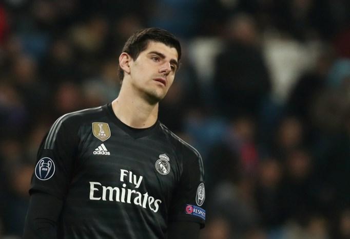 Real Madrid en Courtois (alweer) met de billen bloot tegen CSKA Moskou