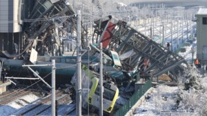 Negen doden bij ongeval met hogesnelheidstrein in Turkije