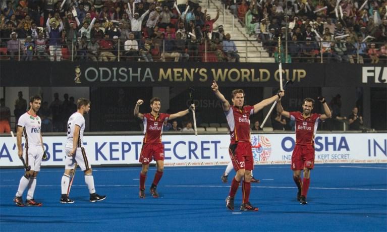 Red Lions kloppen grootmacht Duitsland en mogen naar halve finale WK hockey: