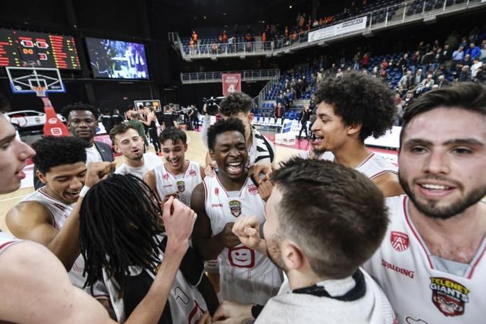 Antwerp Giants fikst helse klus en plaatst zich voor halve finale beker