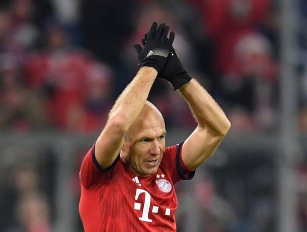 Bayern moet dit jaar niet meer op Arjen Robben rekenen