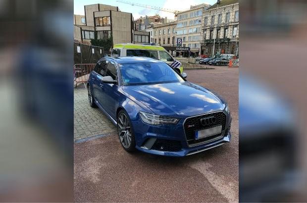 Antwerpse politie vindt gestolen luxewagen uit Duitsland