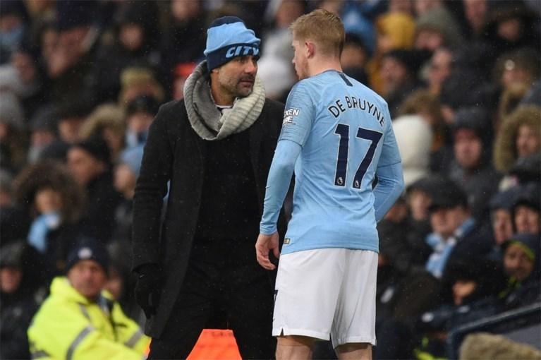 City-fans zorgen voor zinderende sfeer bij rentree van Kevin De Bruyne na anderhalve maand blessureleed