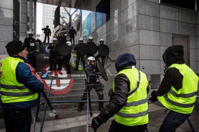 Gele hesjes strijken derde keer neer in Brussel