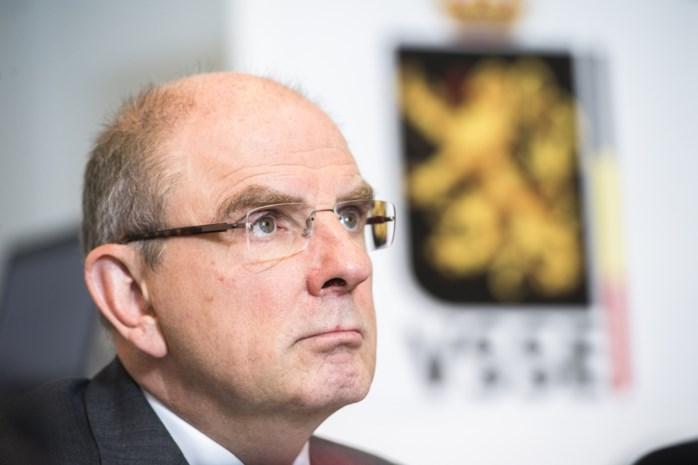Netwerk tegen armoede protesteert weer tegen minister Koen Geens