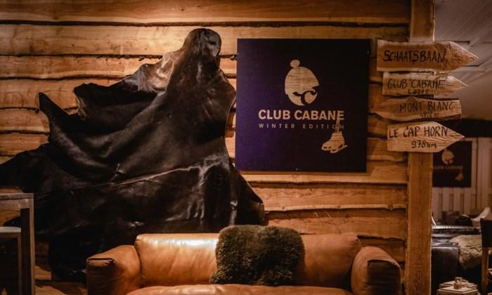De plakplek van de week: winterdorp Club Cabane op Linkeroever