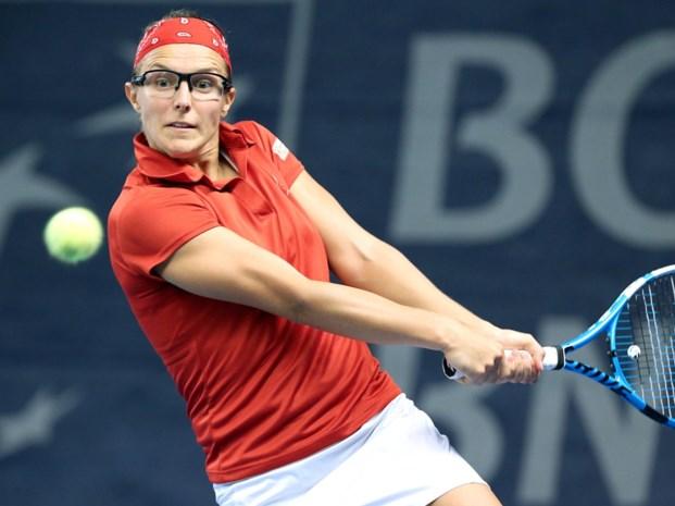 Kirsten Flipkens plaatst zich in Auckland voor tweede ronde, Van Uytvanck uitgeschakeld