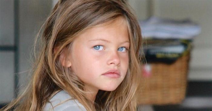 """Als zesjarige was ze al """"het mooiste meisje ter wereld"""", elf jaar later doet Thylane (17) het weer"""