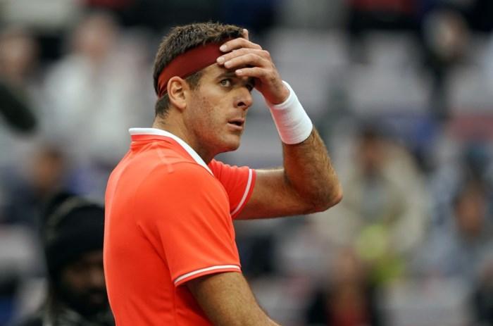 Juan Martin del Potro geeft forfait voor Australian Open