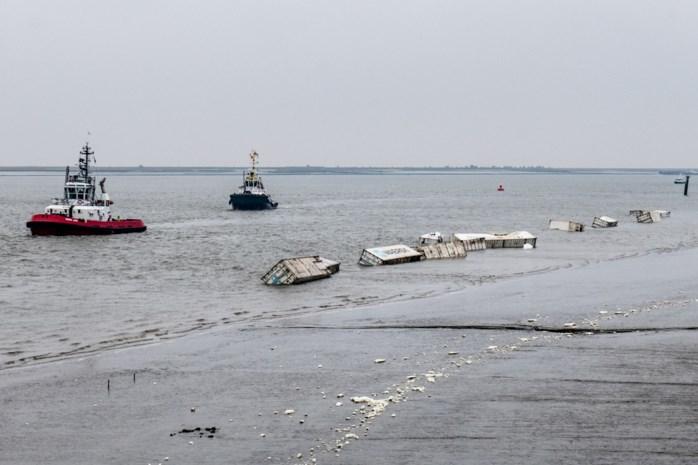 18 containers vallen in Schelde: al tweede incident op korte tijd met binnenschip Nero