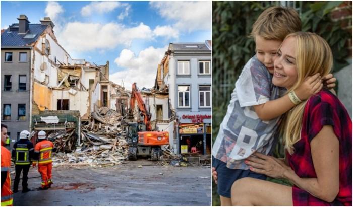 """Linda en zoontje Daan overleefden de ontploffing op de Paardenmarkt: """"Positief blijven, of eronderdoor gaan"""""""