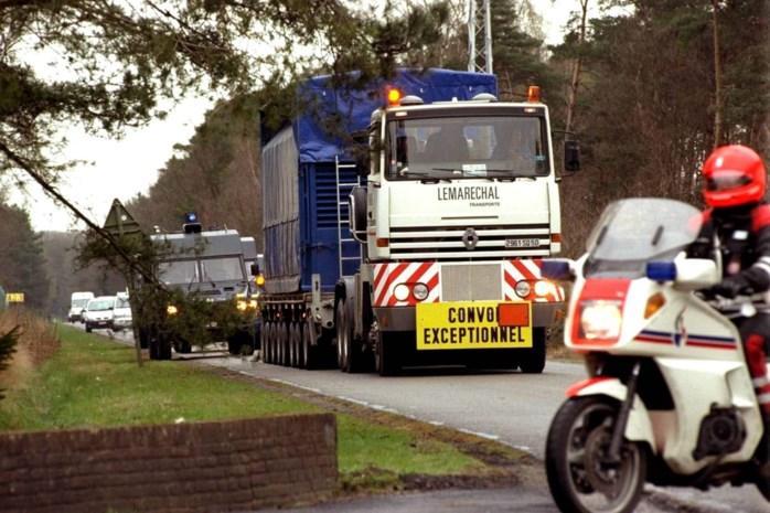 """Transport met radioactief afval naar Mol: """"Containers met extra dikke wand"""""""