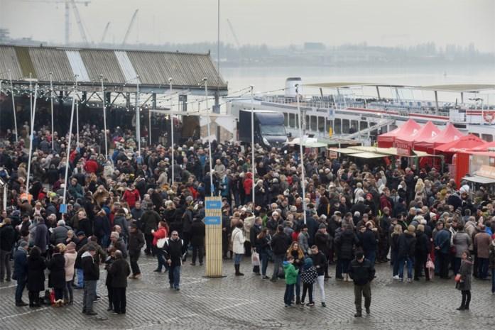 Opnieuw Winter-BBQ op Scheldekaaien om jaar feestelijk in te zetten