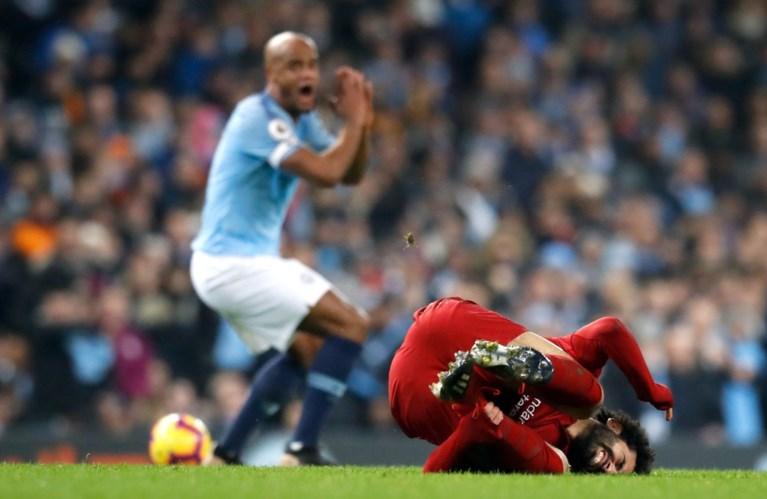 """Kompany verdedigt zich tegenover kritiek na niet gegeven rode kaart: """"Het was een geweldige tackle"""""""
