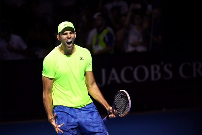 Kroaat Karlovic maakt einde aan zegereeks van Darcis op ATP-toernooi van Pune