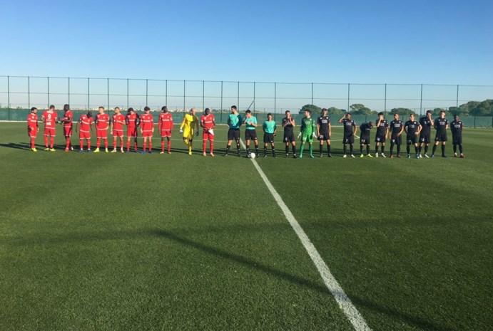 Antwerp wint opnieuw met 1-0 tijdens oefenstage