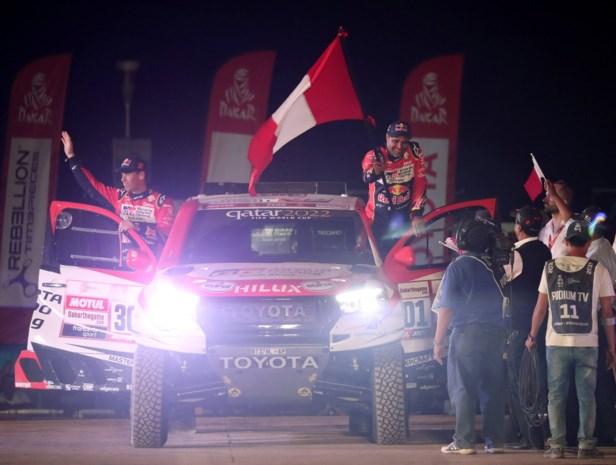 Nasser Al-Attiyah neemt meteen de leiding in Dakar-rally, Tom Colsoul rijdt derde tijd