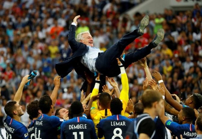 France Football kiest weinig verrassend voor Didier Deschamps als Franse trainer van het Jaar
