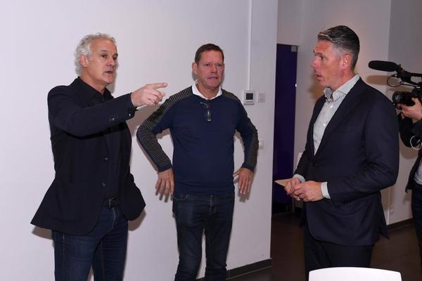 """Fred Rutten voorgesteld als nieuwe trainer van Anderlecht: """"Derde keuze? Daar denk ik niet aan"""""""