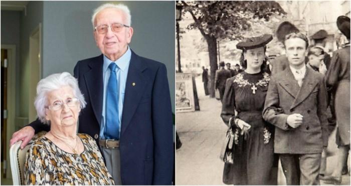 """Alexander (98) en Maria (94) 75 jaar getrouwd: """"Samen de bevrijding vieren, dat was onbeschrijflijk"""""""