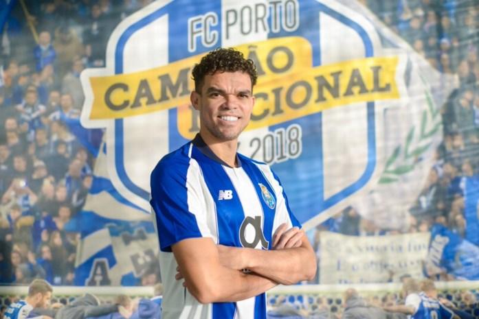Pepe keert terug naar Porto