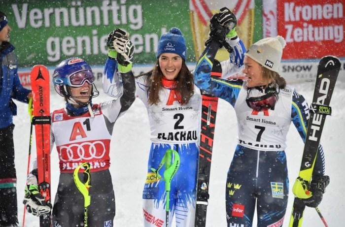 Onklopbare Amerikaanse is dan toch te kloppen: Slovaakse maakt einde aan zegereeks in WB slalom