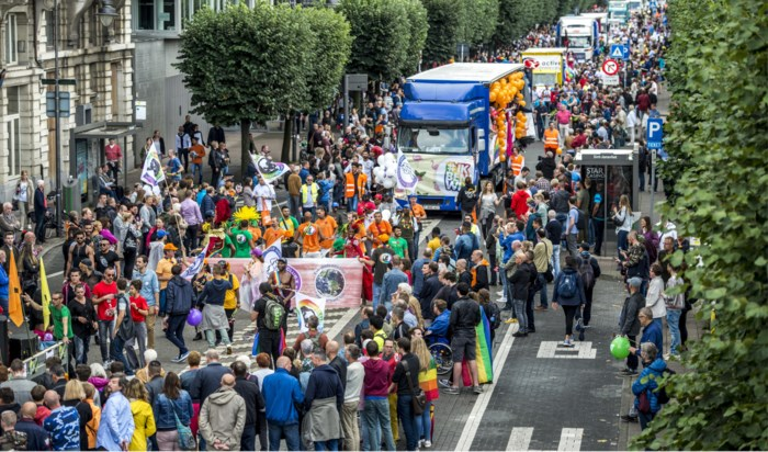 Antwerp Pride vertrekt dit jaar op Sint-Jansplein