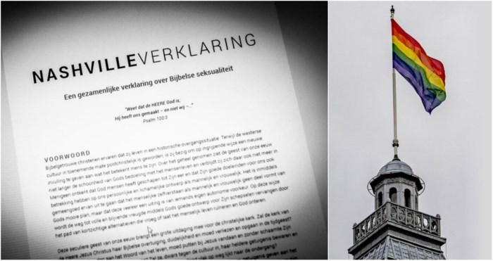 """Ophef in het """"gidsland"""" Nederland over anti-homotekst"""