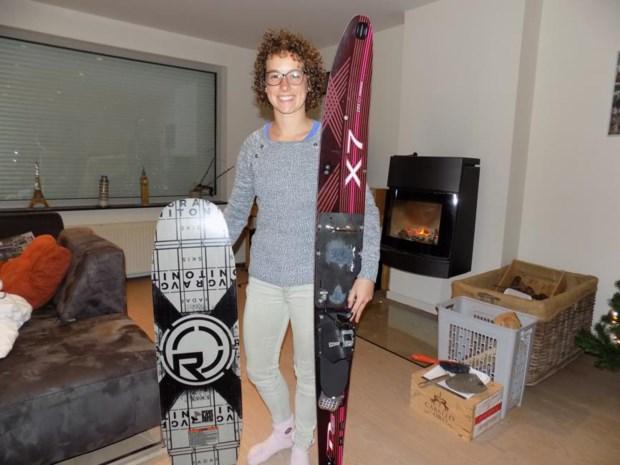 Zeventienjarige Jasmin is wereldatlete 2018 op waterski's
