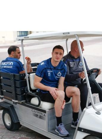 Club Brugge moet verdediger Matej Mitrovic twee maanden missen met barst in enkel