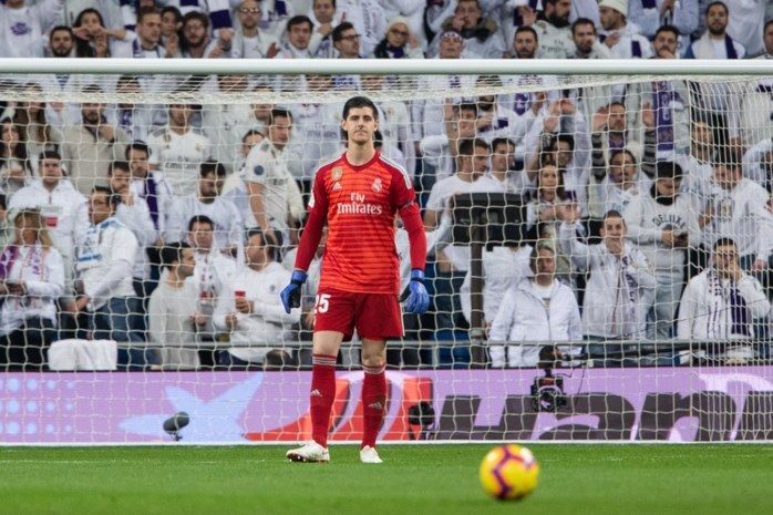 2019 begint niet goed voor Thibaut Courtois: doelman staat bij Real Madrid even aan de kant met blessure