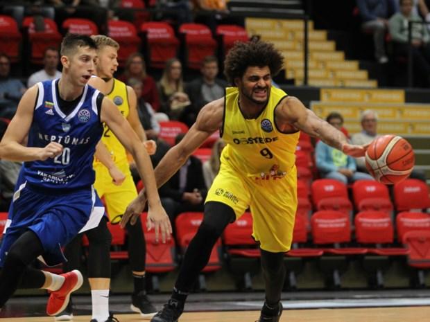 Champions League basketbal: Oostende wint nipt in Litouwen, Antwerp verliest zwaar in Israël
