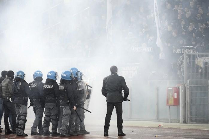 Alweer onrusten in Italiaans voetbal: acht agenten raken gewond bij rellen met Lazio-supporters