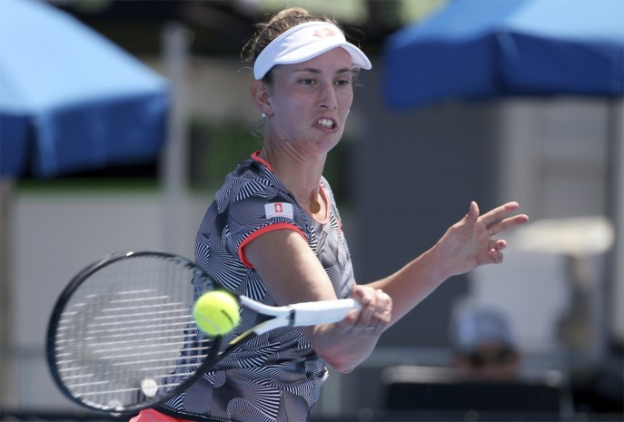 Elise Mertens wint in Sydney, wisselend succes voor Belgische meisjes in Hobart