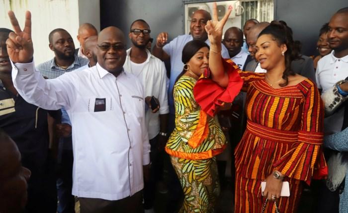 Oppositiekandidaat wint verrassend presidentsverkiezingen Congo