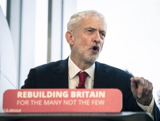 Labour-leider Corbyn blijft mikken op nieuwe verkiezingen als oplossing voor Brexit-debat