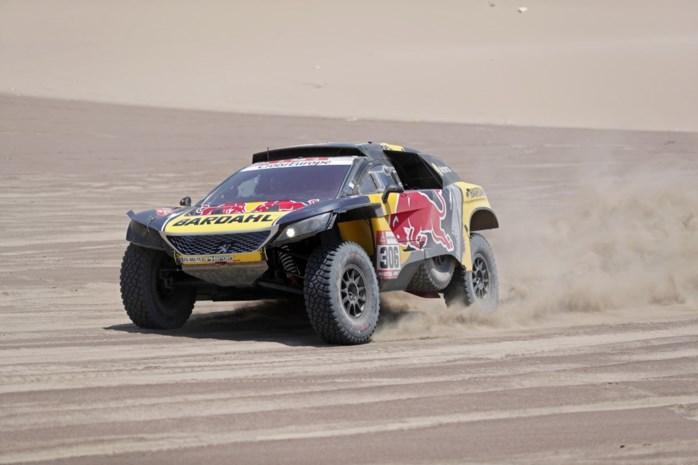 Derde etappezege voor Sébastien Loeb in Dakar