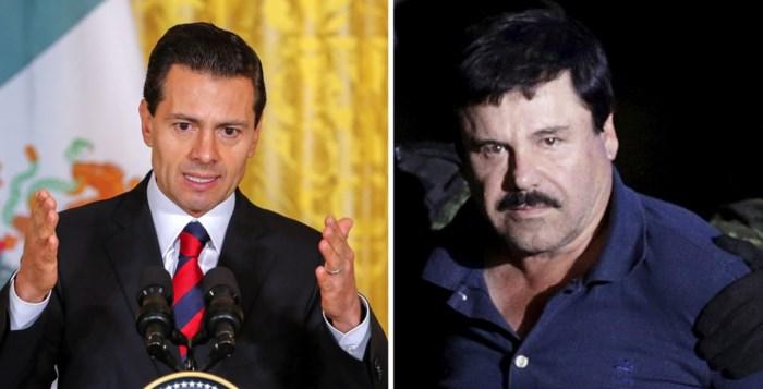 """""""Voormalig Mexicaans president Nieto kreeg smeergeld van El Chapo"""""""